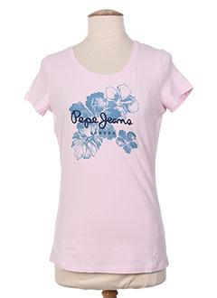 Produit-T-shirts / Tops-Femme-PEPE JEANS