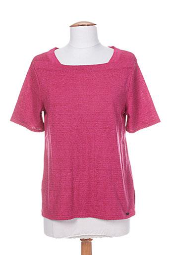 henry & juliette pulls femme de couleur rose