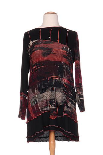 quattro tuniques femme de couleur noir