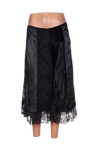 chadia jupes femme de couleur noir