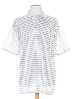 quadro t-shirts homme de couleur gris lwoeet
