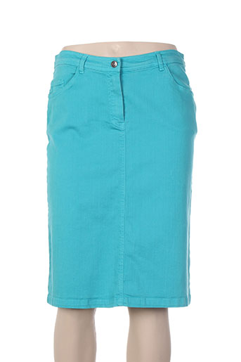 felino jupes femme de couleur bleu