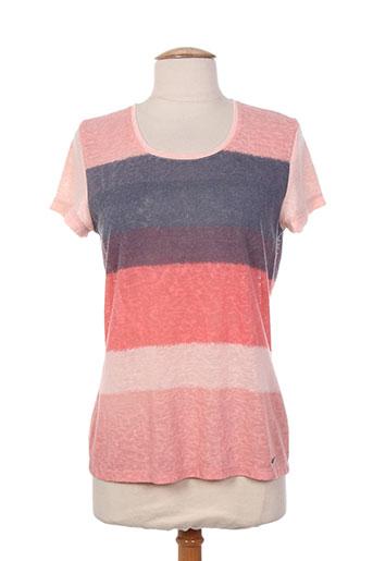 felino t et shirts et tops femme de couleur rose