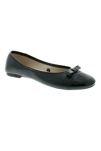 isotoner chaussures femme de couleur noir