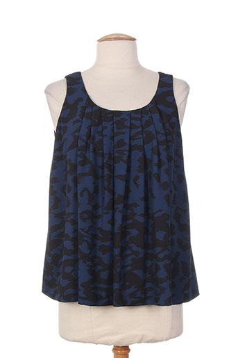 lola chemises femme de couleur bleu