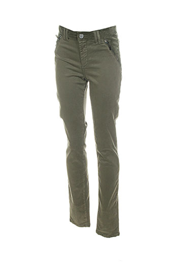 votre nom pantalons femme de couleur vert