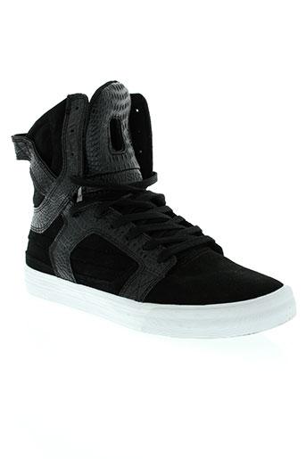 supra chaussures homme de couleur noir