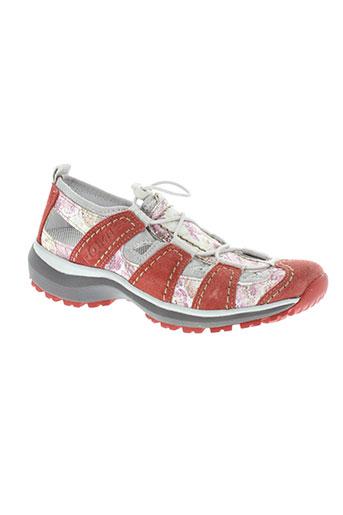 romika chaussures femme de couleur rose