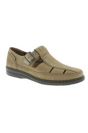 mephisto chaussures homme de couleur beige