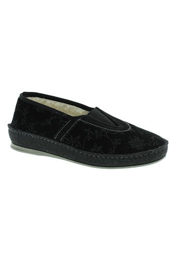 schawos chaussures femme de couleur noir