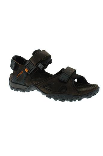allrounder chaussures homme de couleur marron