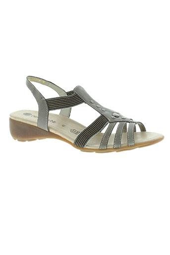 remonte chaussures homme de couleur gris