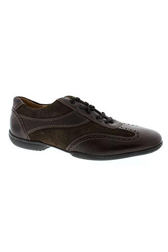 manz chaussures homme de couleur marron