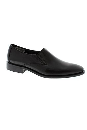 manz chaussures homme de couleur noir