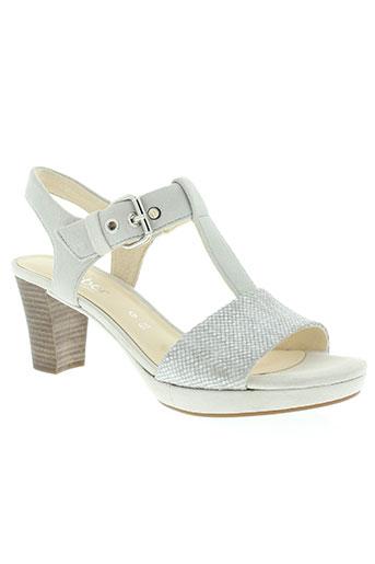 gabor chaussures femme de couleur gris