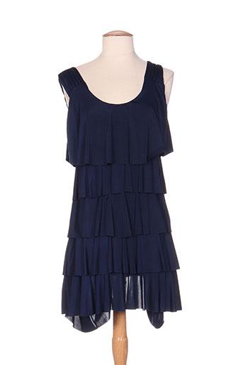 lonkel robes femme de couleur bleu