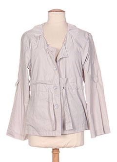 Veste casual gris 3322 pour femme