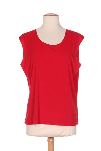 georgedé chemises femme de couleur rouge