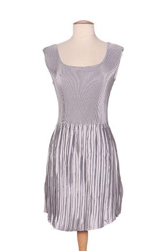 jolie mine robes femme de couleur gris