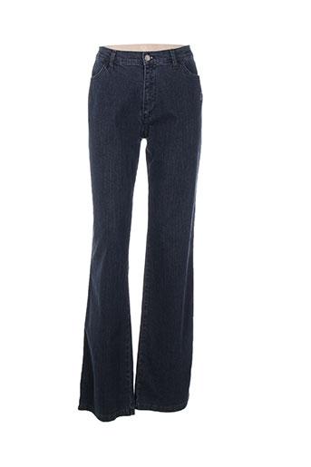 aquajeans jeans femme de couleur bleu