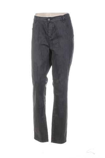 geisha pantalons femme de couleur gris