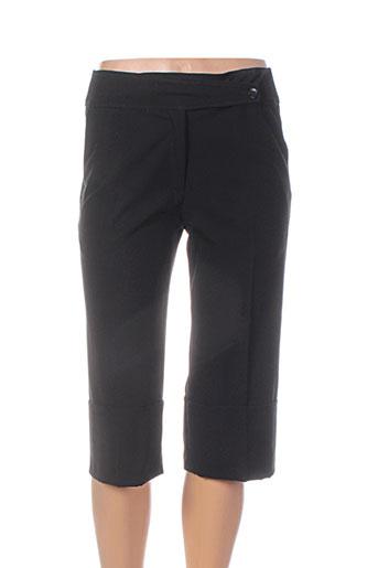 emmanueli shorts / bermudas femme de couleur noir