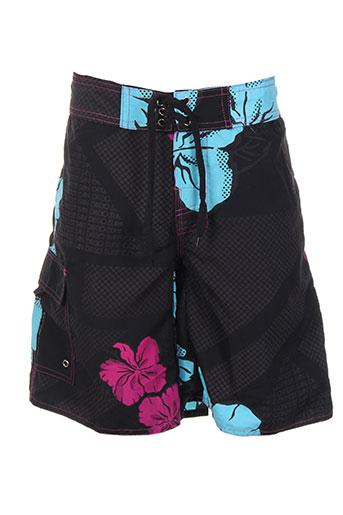 hawaiiam surfing maillots de bain garçon de couleur noir
