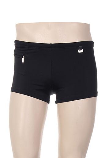 hom maillots de bain homme de couleur noir