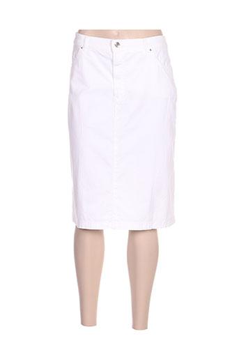 bruno saint hilaire jupes femme de couleur blanc