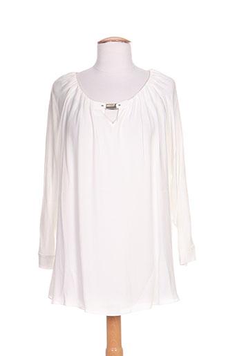 airfield chemises femme de couleur blanc