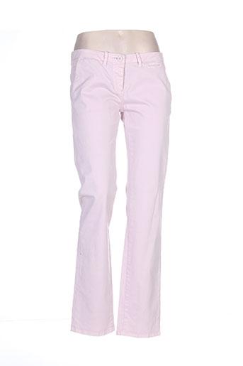 peuterey pantalons femme de couleur rose