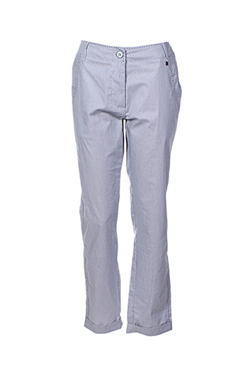 mado et les autres pantalons femme de couleur bleu