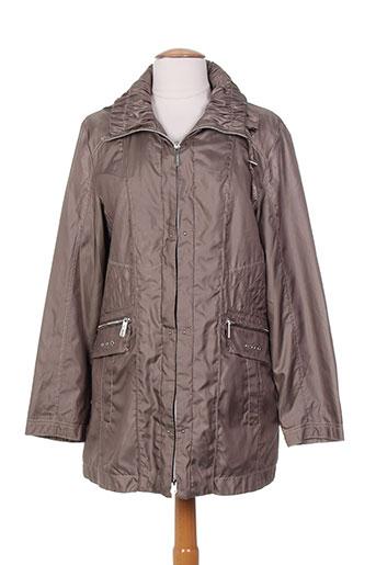 isabell manteaux femme de couleur marron