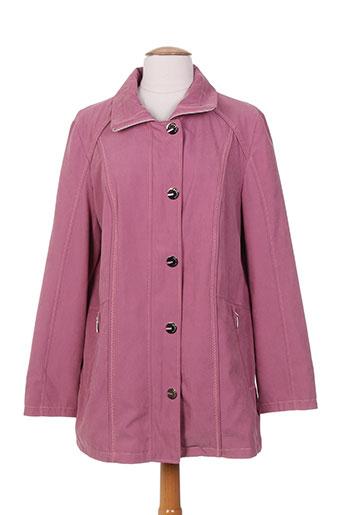 isabell vestes femme de couleur violet