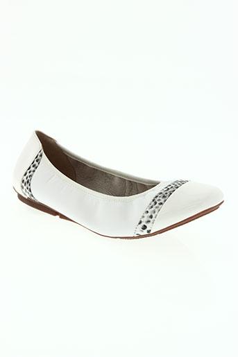 metamorf'ose chaussures femme de couleur blanc