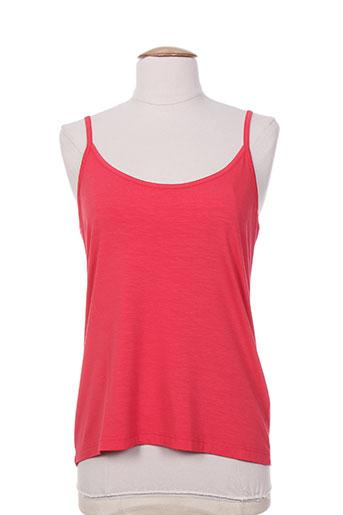 faber chemises femme de couleur rouge