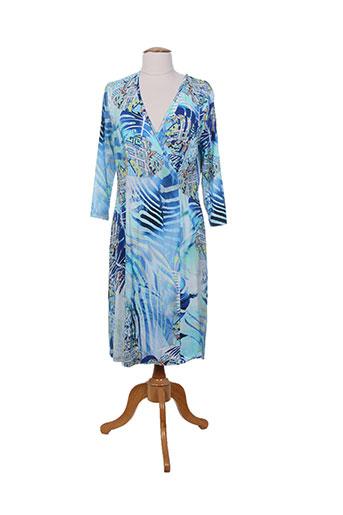 lucia robes femme de couleur bleu
