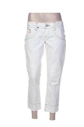 pepe jeans pantacourts femme de couleur beige