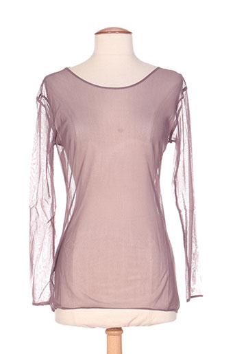 in wear t-shirts femme de couleur rose