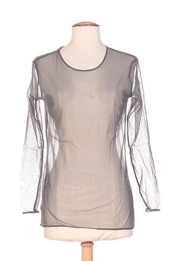 in wear t-shirts femme de couleur gris
