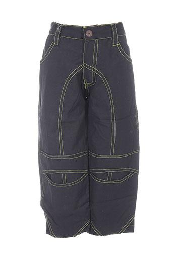 bamboo's pantalons garçon de couleur noir