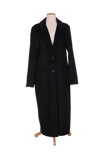 scee manteaux femme de couleur noir