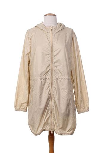 benetton manteaux femme de couleur beige