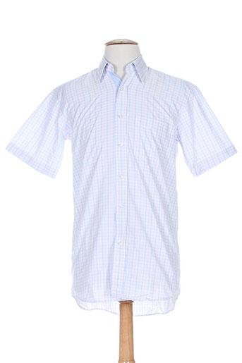 louis victor chemises homme de couleur bleu
