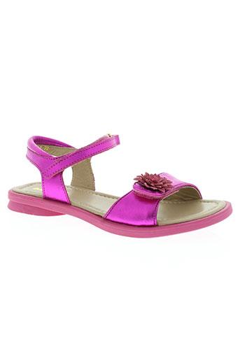 mod 8 chaussures fille de couleur rose
