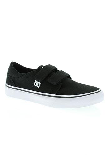 dc chaussures garçon de couleur noir