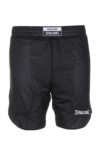 spalding shorts / bermudas enfant de couleur noir
