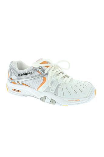 babolat chaussures femme de couleur orange