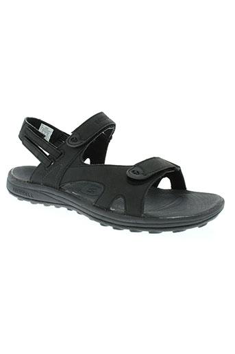 merrell chaussures homme de couleur noir
