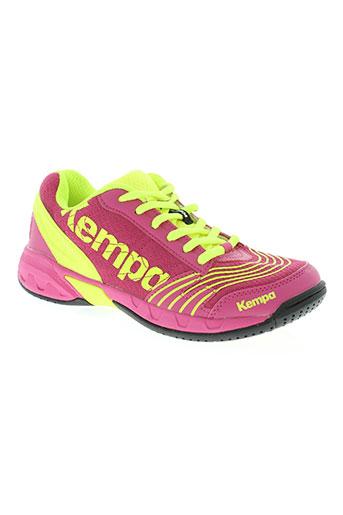 kempa chaussures enfant de couleur rose